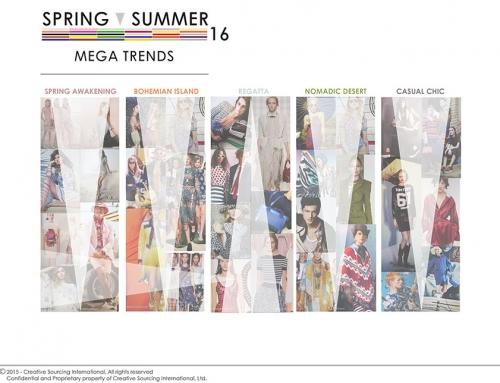 Spring/Summer 2016 Mega Trends